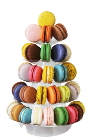 Assorted Macaron Tower