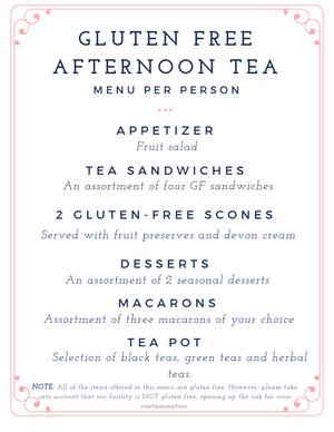 Afternoon Tea Exclusively at our Westboro Boutique