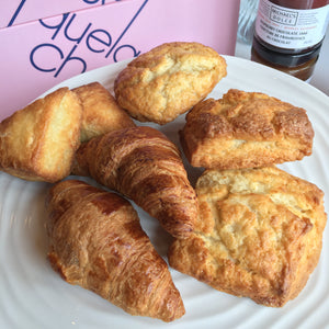 Croissants and scones ~