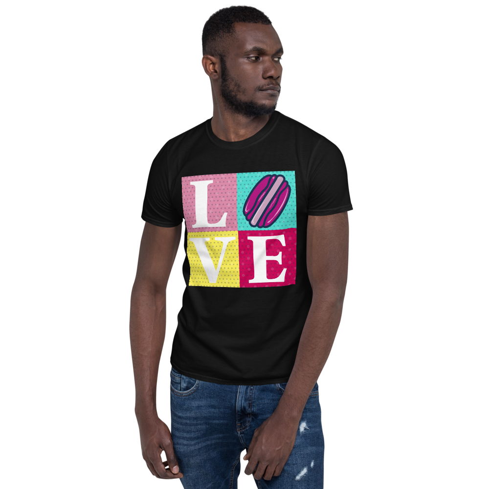 Pop Love Short-Sleeve Unisex T-Shirt