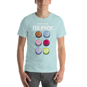 Six Pack Short-Sleeve Unisex T-Shirt