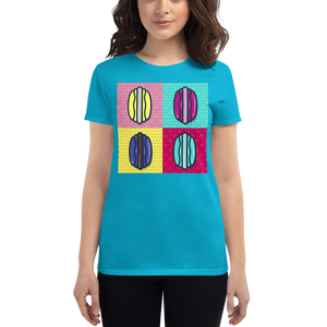 Pop Art Macarons Women's short sleeve t-shirt