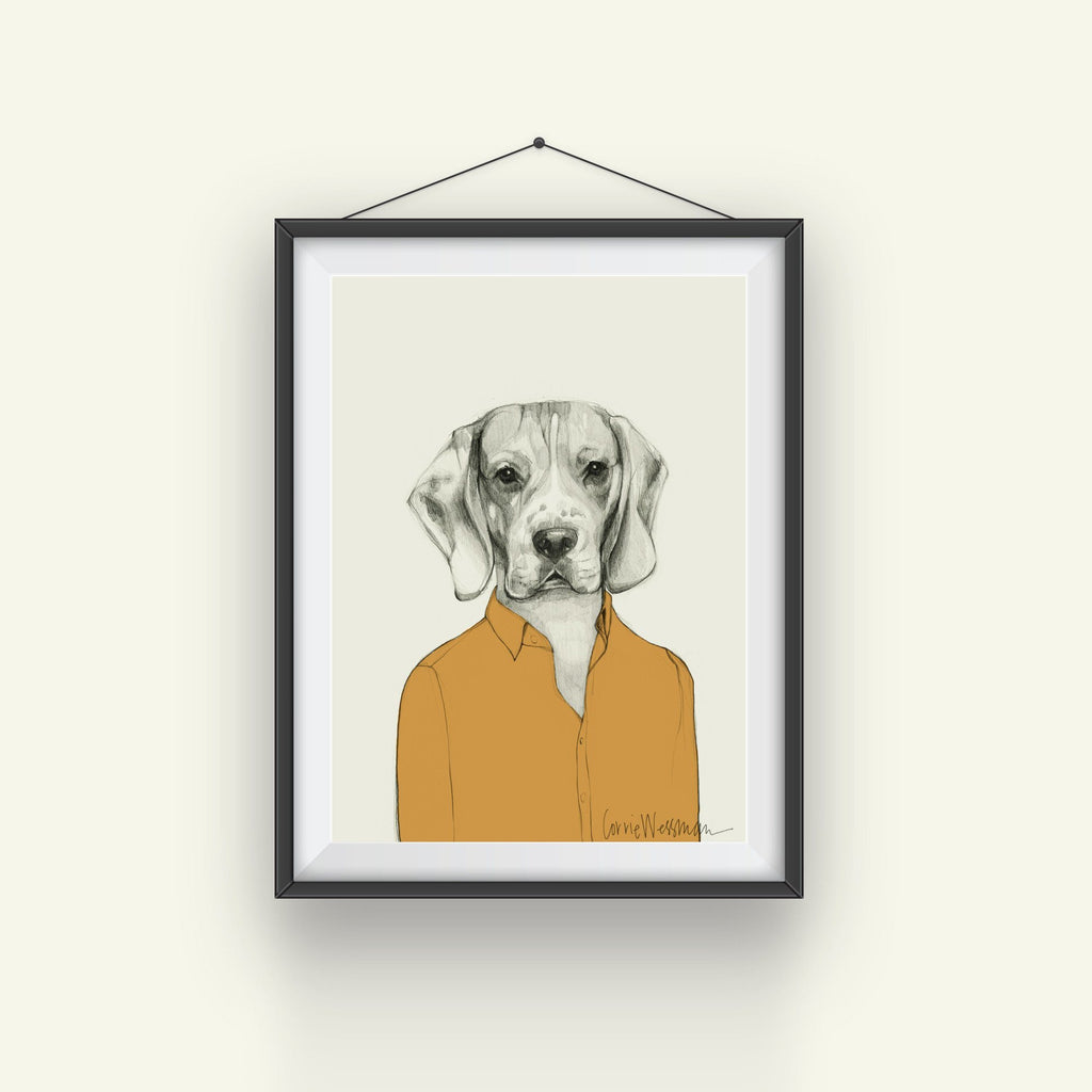 Beagle Art // Casual Shirt