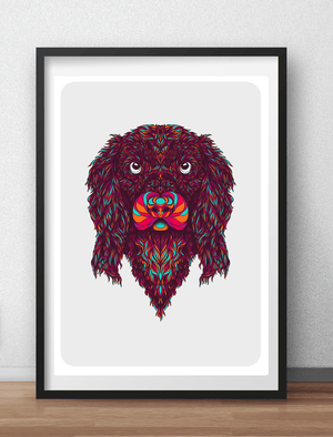 Cocker Spaniel Art