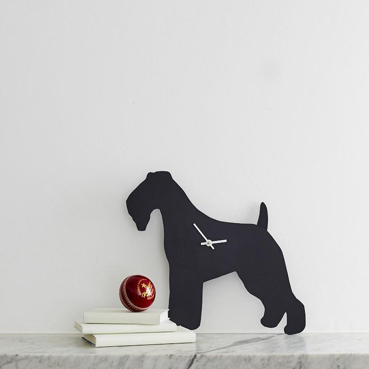 Fox Terrier Clock