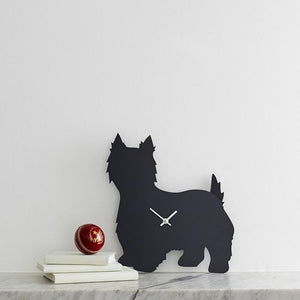 West Highland Terrier Clock