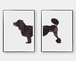 Cockapoo Dog Art