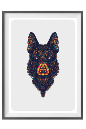 German Shepherd - Fire