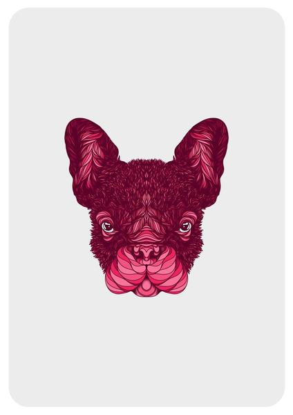 French Bulldog dog Art