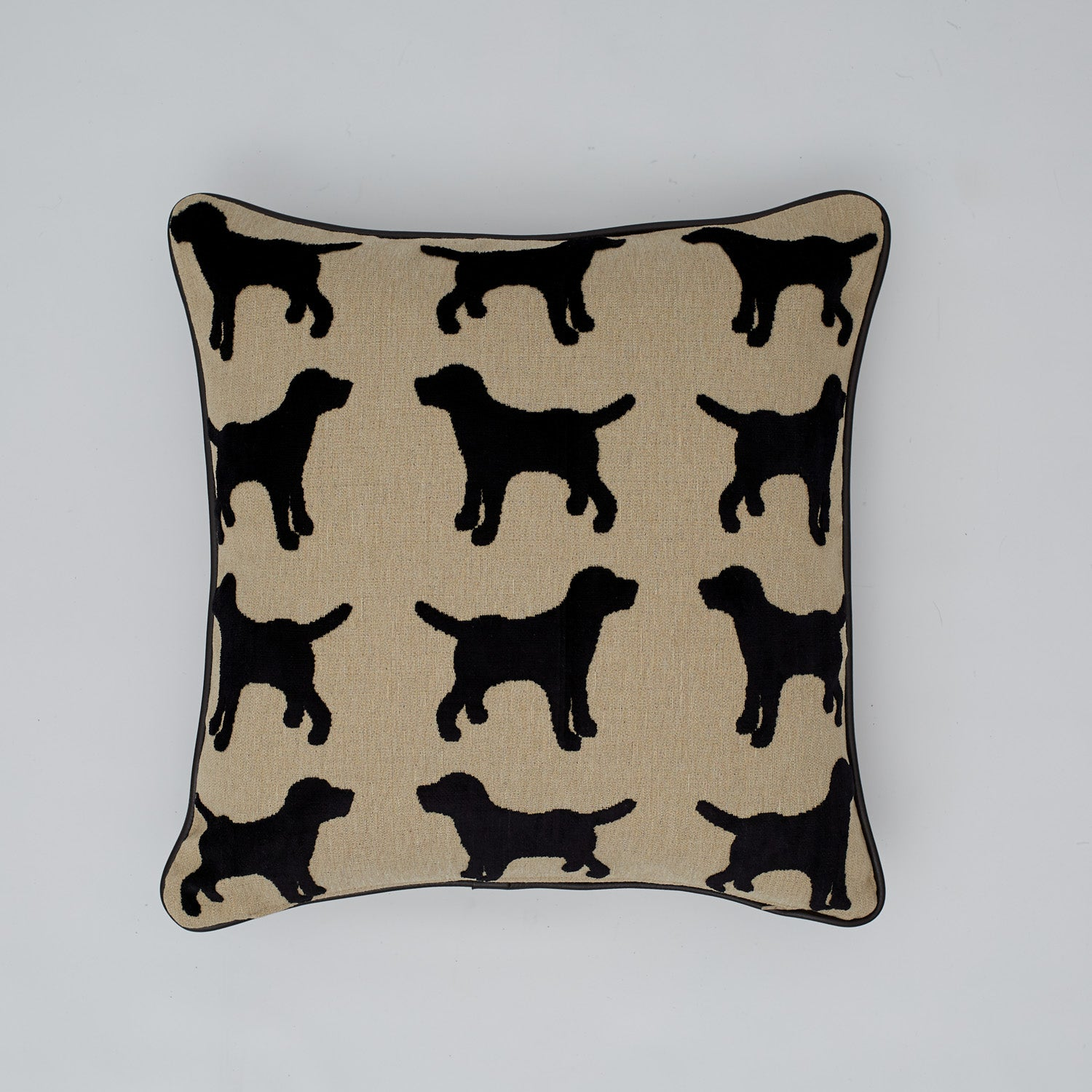 Textured fabric cushion