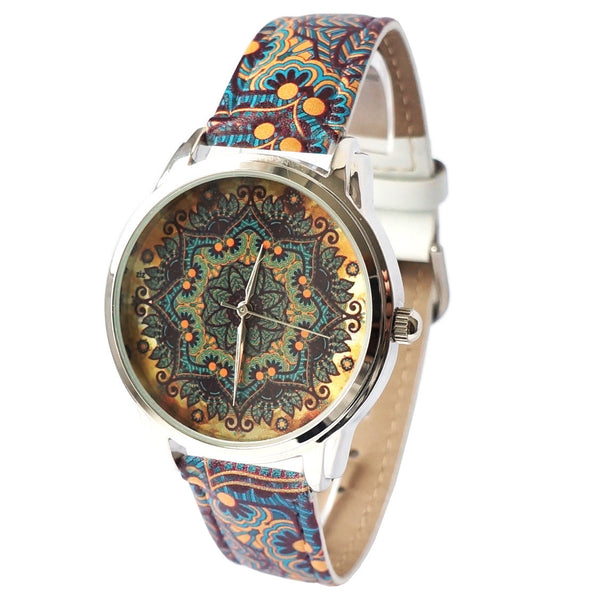 Vintage Pattern Art Watch