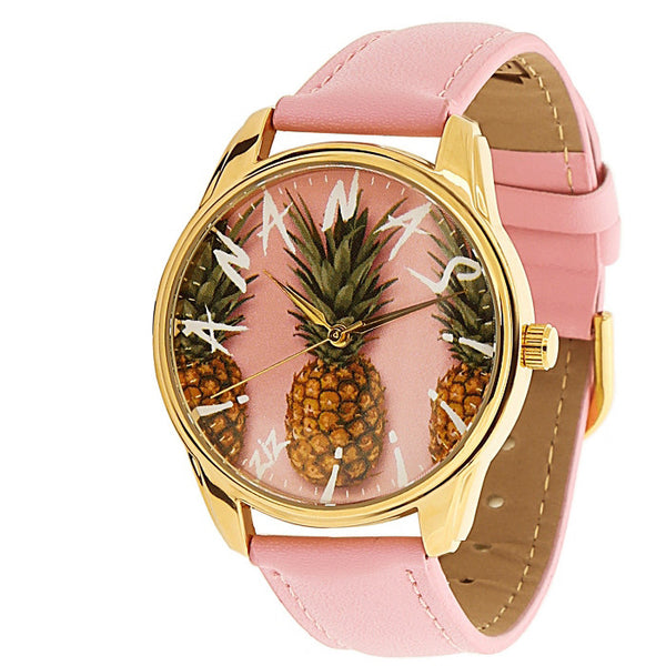 Ananas Golden Watch