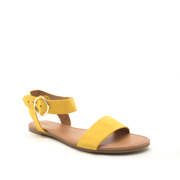 ARCHER-559X YELLOW SUEDE PU