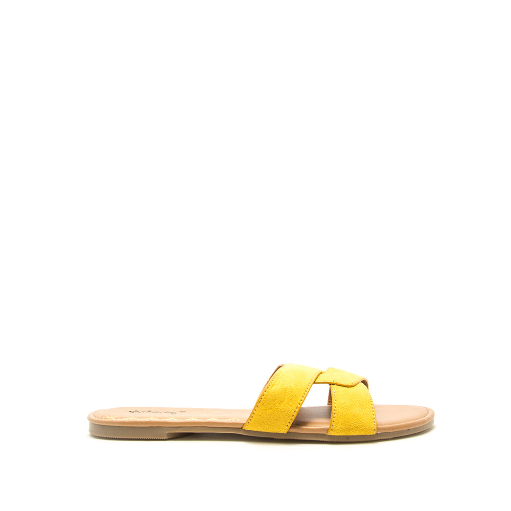 ARCHER-617X YELLOW SUEDE 1/2 VIEW