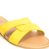 ARCHER-617X YELLOW SUEDE PU