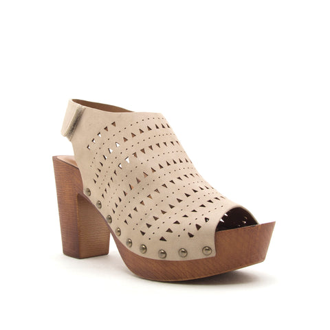 BEEKLER-30X LIGHT TAUPE DISTRESS NUBUCK PU