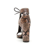 BIXBY-45X LIGHT BROWN MULTI SNAKE PU BACK VIEW