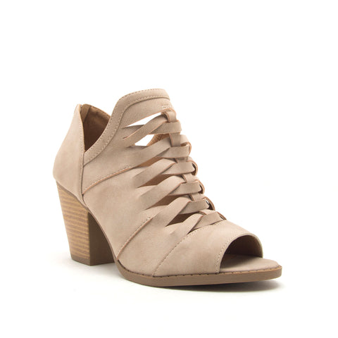 BRUNA-12 TAUPE DISTRESS NUBUCK PU