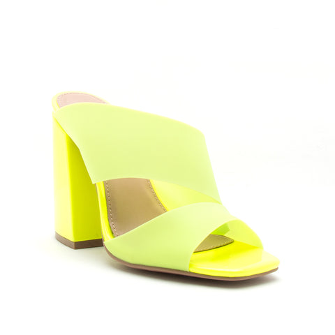CAGE-36 NEON YELLOW FROST PVC