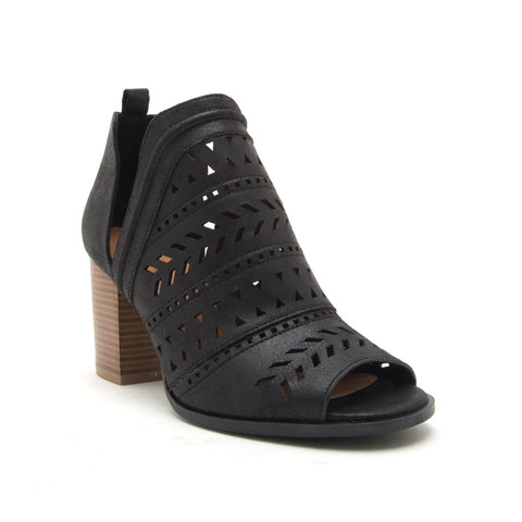 CARIS-24 BLACK DISTRESS PU