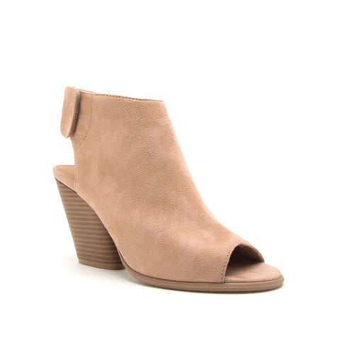 CAUTION-01 WARM TAUPE  STRETCH SUEDE PU