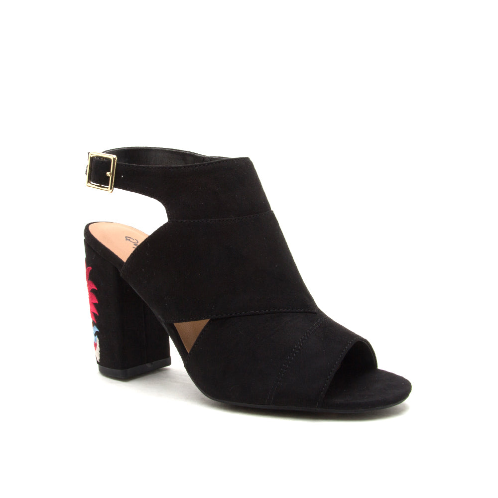 CHESTER-128 BLACK SUEDE PU