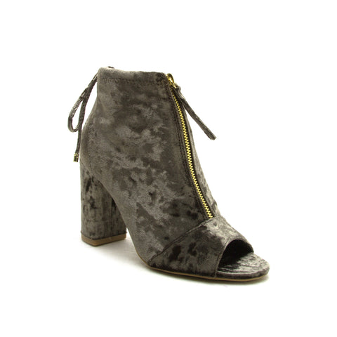 CHESTER-62 KHAKI CRUSH VELVET