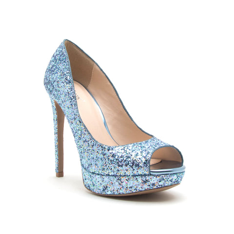 DANI-17 LIGHT BLUE MULTI GLITTER PU
