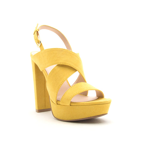 DEARLY-20XX YELLOW SUEDE PU