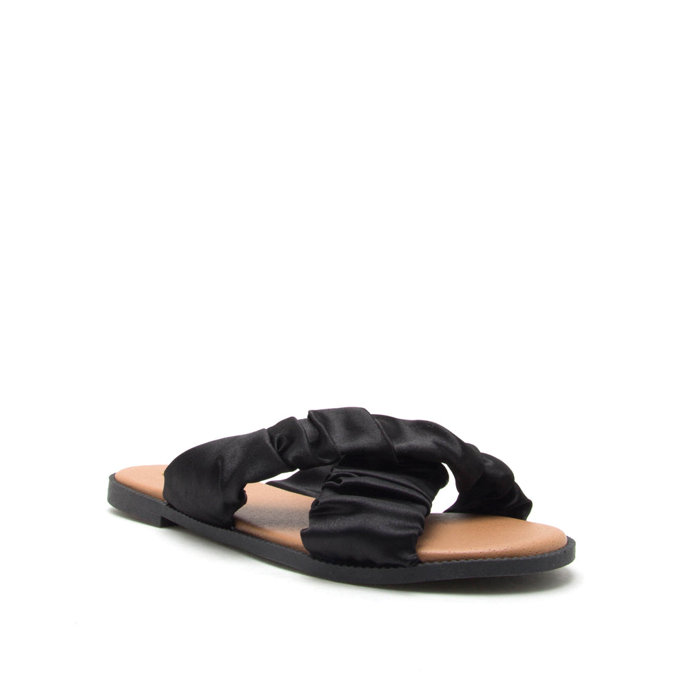 DESMOND-04 BLACK SATIN