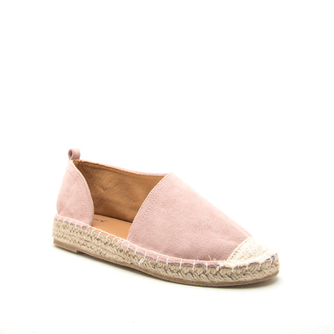 ELMORE-23A BLUSH STRETCH SUEDE PU