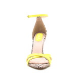 FRASIER-67 NEON YELLOW NUBUCK PU FRONT VIEW