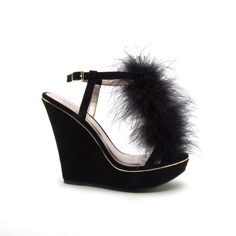 GLORY-175 BLACK SUEDE PU