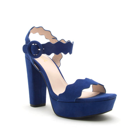 ICONIC-19 MIDNIGHT BLUE SUEDE PU