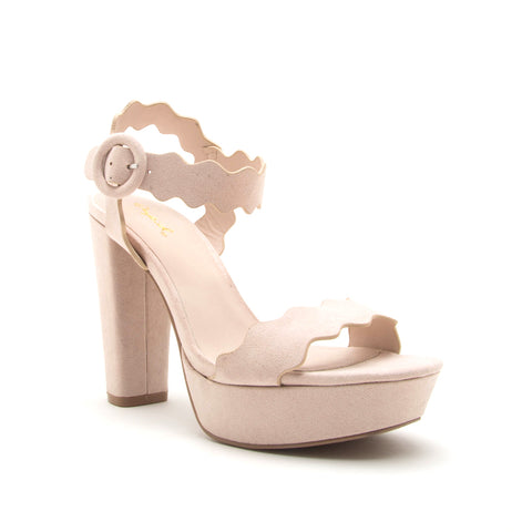 ICONIC-19 NUDE SUEDE PU