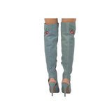INTEREST-164 BLUE DENIM