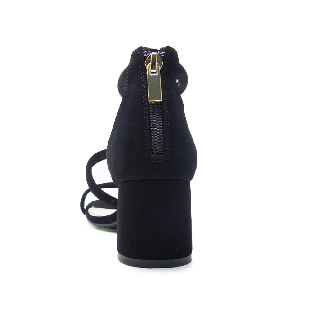 KATEN-21 BLACK NUBUCK BACK VIEW