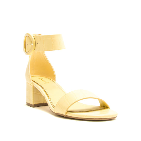 KATZ-116A YELLOW CROCO PU
