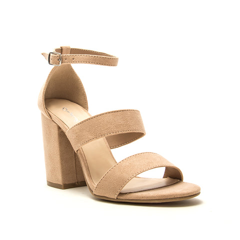 LAKE-42 WARM TAUPE SUEDE PU