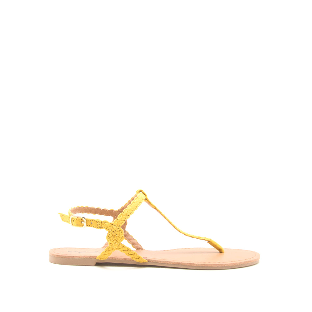 LANA-461X YELLOW SUEDE PU
