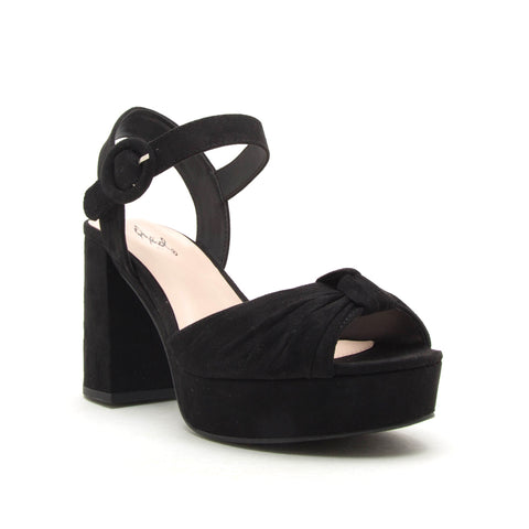 LAWSON-26 BLACK SUEDE PU