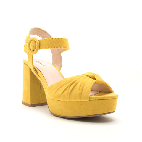 LAWSON-26 YELLOW SUEDE PU