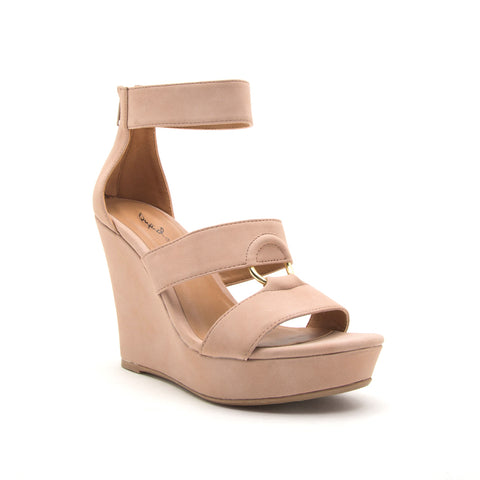 LENA-638 BLUSH DISTRESS NUBUCK PU