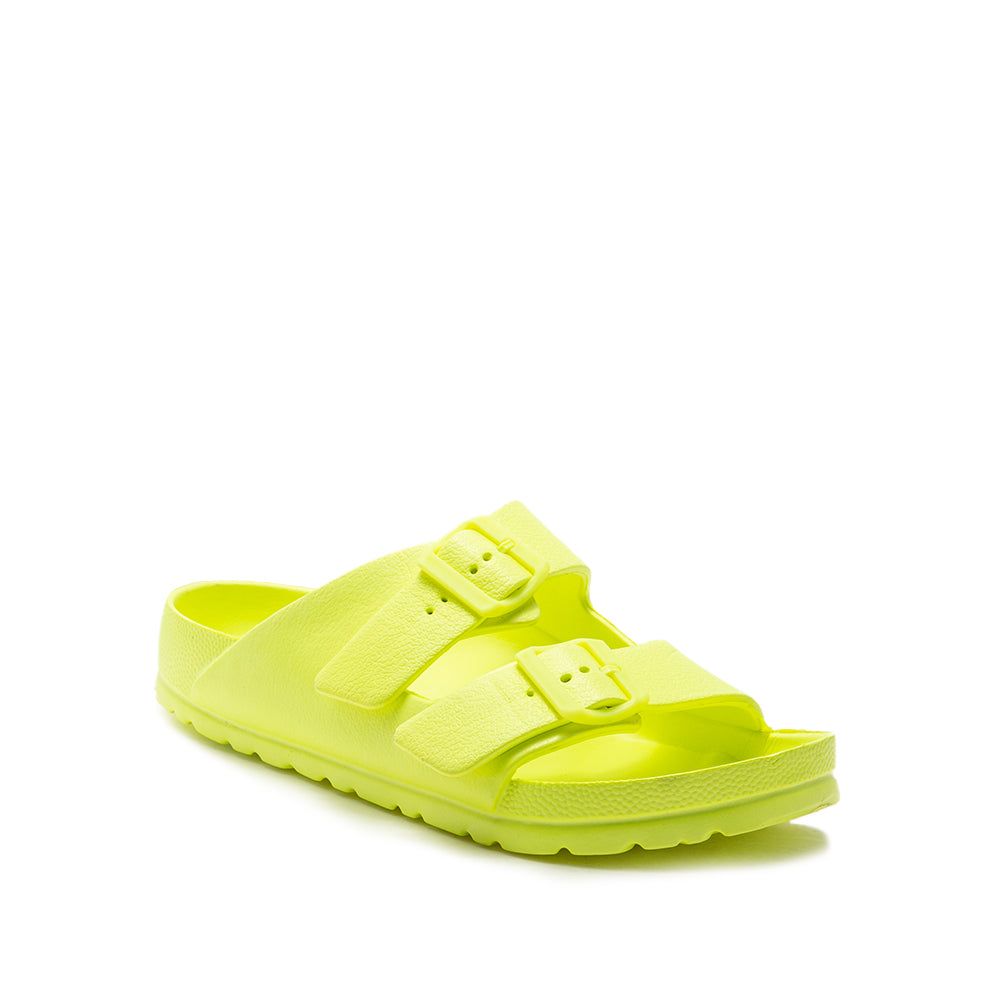 LENNIE-01 NEON YELLOW 1/4 VIEW