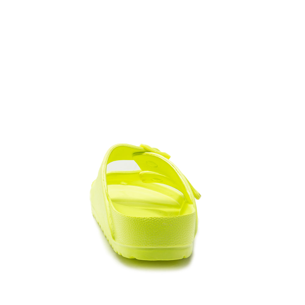 LENNIE-01 NEON YELLOW BACK VIEW