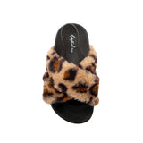 LEXEE-01 LEOPARD FAUX FUR TOP VIEW