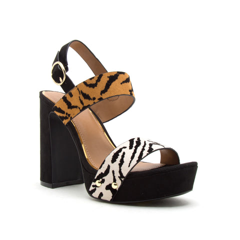 LIGHTING-15X STONE BLACK TIGER SUEDE PU