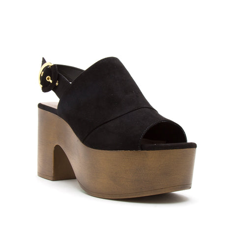LODGE-03 BLACK SUEDE PU