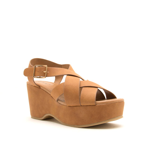 LOGAN-10A CAMEL DISTRESS NUBUCK PU