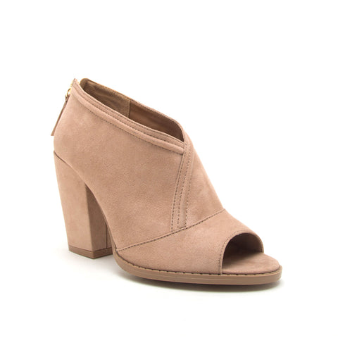 LOST-47 WARM TAUPE SUEDE PU